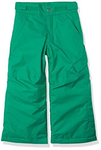 Columbia Ice Slope II Los Pantalones De Esquí Térmicas, Niños, Emerald Green, L
