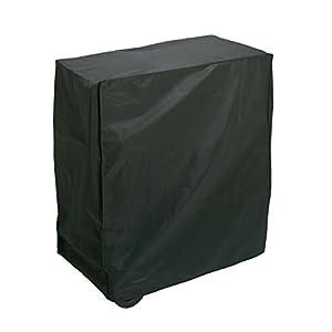 Algon AA237 Funda, apta para barbacoas rectangulares, negro, 80 x 47 x 84 cm