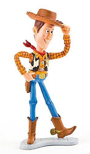 Comansi Y12761. Figura Disney Pvc. Vaquero Woody. Serie Toy Story. 10,5 cm altura