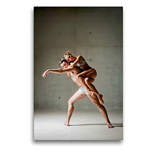 Haz una pausa de bailarina en la espalda de tu pareja., 50 x 75 cm