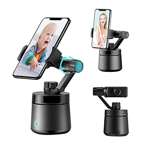 XZHFC AI Auto Face Tracker Auto Smart Disparo Selfie Stick 360 ° Objeto Titular De Seguimiento All-in-One Rotación Cara De Seguimiento De La Cámara Titular del Teléfono