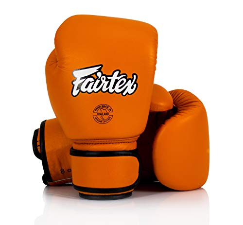 Not defined Guantoni Fairtex Muay Thai in Pelle Arancio 10 OZ