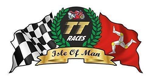 Diseño para Isle Of Man Tt Camino Races Manx Moto Gp Racing...