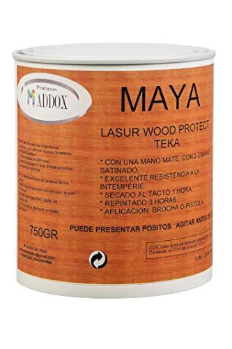 Lasur protector para madera,especial exteriores