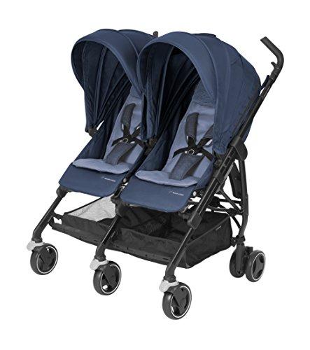 Maxi Cosi Dana For 2 Twin Stroller - Nomad Blue