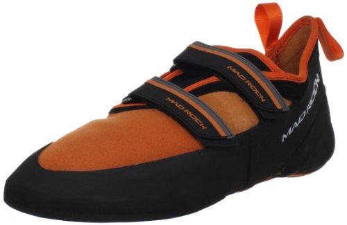 Mad Rock Men's Flash 2.0 Climbing Shoe,Orange/Black,3 D US