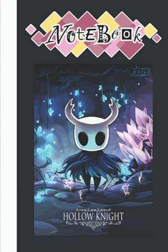Hollow Knight Notebook Merch for Women Men Teen: Hollow Knight Notepad Book | The Knight Notebook | Diary For Any Occasion Gifts in Work Office, Home, School With... 6x9 inches (114 Pages)