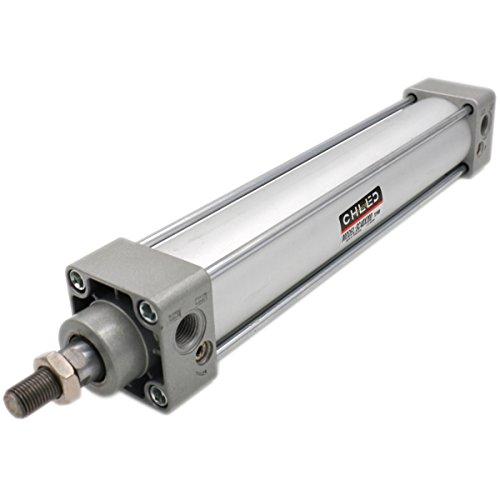 Heschen Cilindro neumático Estándar SC 40-200 PT1/4 Puerto 40 mm Orificio 200 mm Stroke Doble Acción