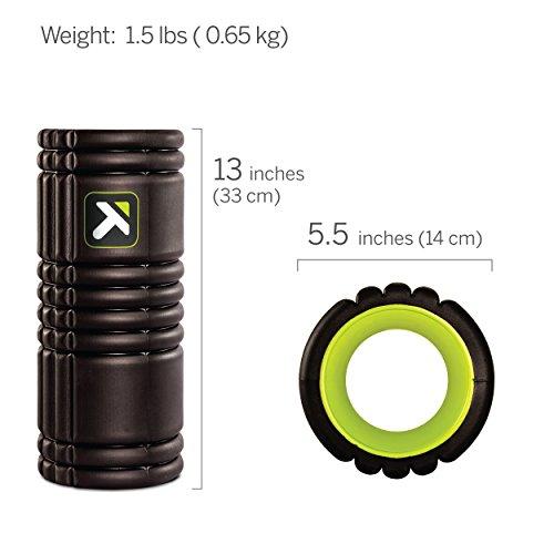 Trigger Point Foamroller Grid, Black, 33 x 14 cm, 3700006350013 - 2