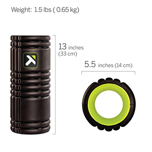 Trigger Point Foamroller Grid, Black, 33 x 14 cm, 3700006350013 - 2