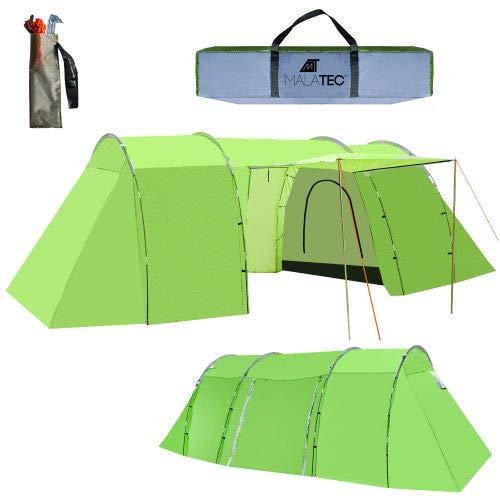 MT MALATEC Campingzelt Wasserdicht UV Schutz Camping Trekking Outdoor 10115, Größe:Arizona