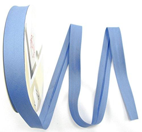 Schrägband, Elastisch, 30mm, Kanten-band, elastic, nähen, Meterware, 1meter (azul)