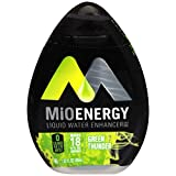 MiO Energy Green Thunder Liquid Water Enhancer, Caffeinated, 1.62 fl oz Bottle