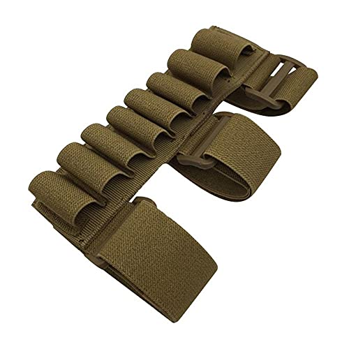 NLLeZ 1pc 8 soporte redondo de la cáscara de la cáscara de la colección táctica del cartucho del cartucho de la escopeta de la colección de la caza 12ga 20ga rifle de la pistola de la bola de la bolsa