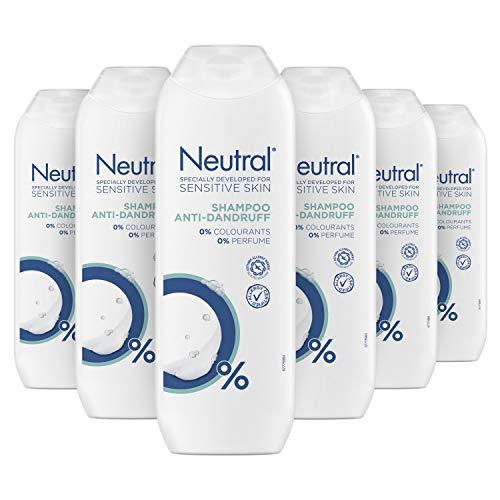 Neutral Anti-Roos Shampoo Parfumvrij 6 x 250 ml Voordeelverpakking