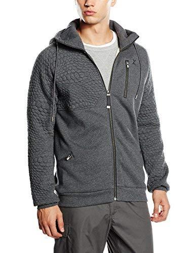 OnePiece P-HO15006 Sweat-Shirt Homme, Gris (Dark Grey Mel), (Taille Fabricant: Medium)