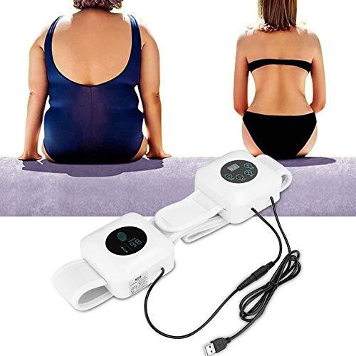 Digitaler Schlankheitsgürtel, Gürteltaille, Trimmer-Taille, Trainer-Schlankheitsformer, Sport-Fitness-Sauna-Gewichtsverlust-Saunagürtel, Bodybuilding-Taillen-Traning-Gürtel