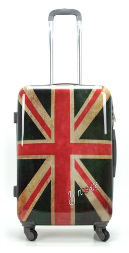 Y NOT? trolley valigia rigido grande 4 ruote tsa 75 cm uk - Mixed