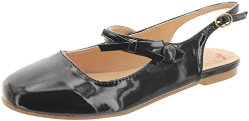 Dancing Days by Banned Slingback-Ballerinas Starlet Supreme 275 Schwarz 36