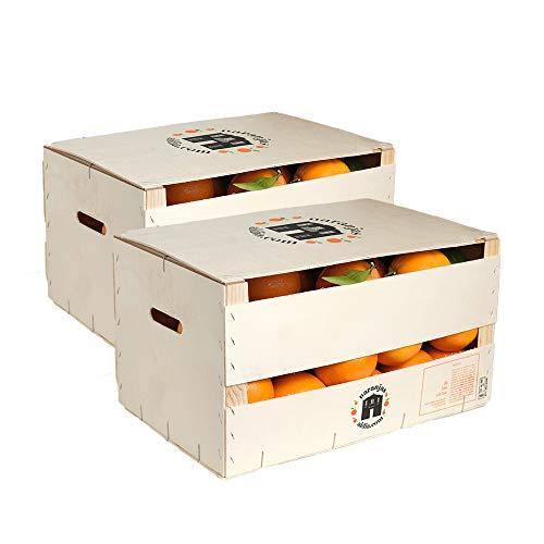 Caja de 30 kg de Naranjas para zumo directas del árbol