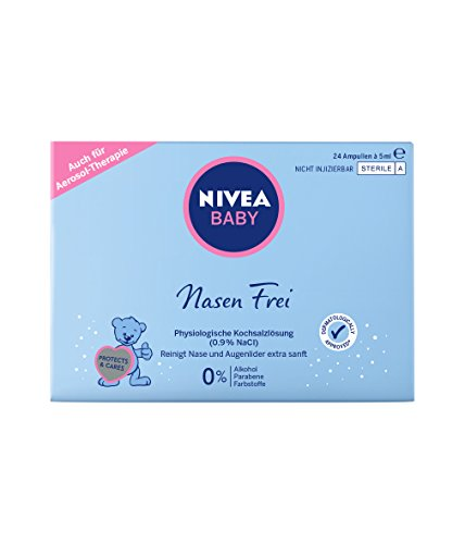 Nivea Baby Nasen Frei Nasenpflege, 1er Pack (1 x 120 ml)