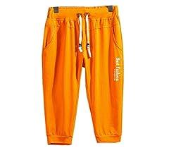 HTOOHTOOH Mens Jogger Pants Elastic Waist Workout Running Sweatpants with Pockets