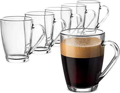 Bormioli Rocco 416831Icon Tasse aus Glas, 32cl, Transparent