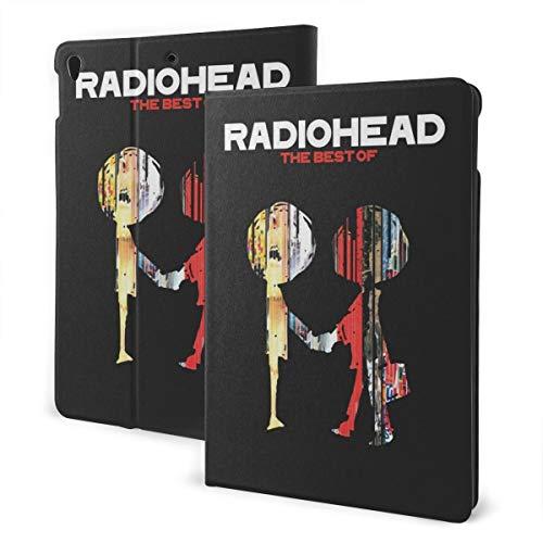 GhsyhSRf ipad case Radiohead Exquisite Music Theme Anti-Skid Anti-Scratch Anti-Shock Anti-Collision Soft Silicone Protective Shell