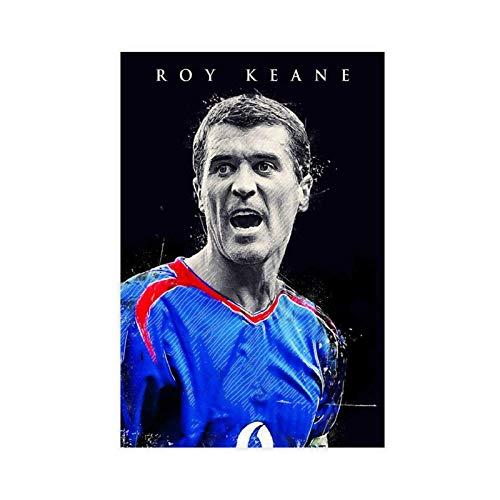 Roy Keane Poster Fútbol Fútbol Cuadro Lienzo Arte de Pared Decoración de la Sala de estar Decoración del Hogar 30 × 45 cm Unframe-style1