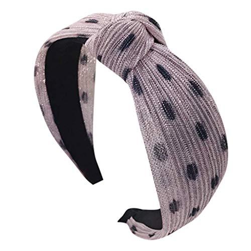 NXYJD Cintas de Cabeza Lisas Nudo Turbante Cintas elásticas Accesorios de Sombreros for Mujeres y niñas, 3 Colores (Color : C)