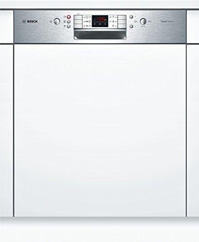 Bosch SMI68M95EU Geschirrspüler Teilintegriert / A+++ / 214 kWh/Jahr / Startzeitvorwahl / Restzeit-Anzeige / Beladungs-Sensor / Lieferung ohne Möbelfront