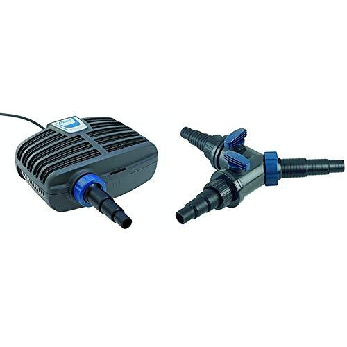 Oase AquaMax Eco Classic 11500 Filter- und Bachlaufpumpe & Y-Verteiler, 1 1/2