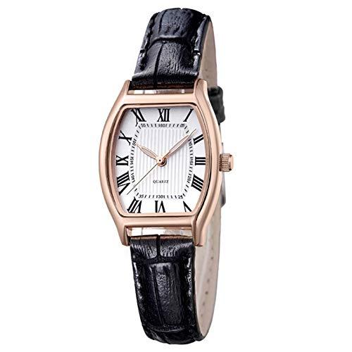 Relojes de la pulsera de la mujer Reloj de la mujer de la mujer de la mujer de la mujer de Cuarzo de cuero Moda de mujer Vestido de mujer Reloj de pulsera Reloj de pulsera Reloj de lujo Casual Relojes