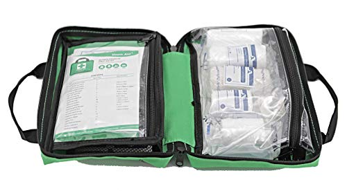 Voom Direct 90 Piece Compact Premium First Aid Kit with Reflective Bag Includes Eyewash Ice Packs & Emergency Blanket… 1