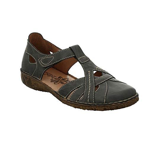 Josef Seibel Rosalie 29 Sandalen in Übergrößen Grau 79529 95 540 große Damenschuhe, Größe:43