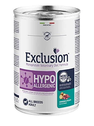 Exclusion Hypoallergenic Hirsch & Kartoffel 400 g