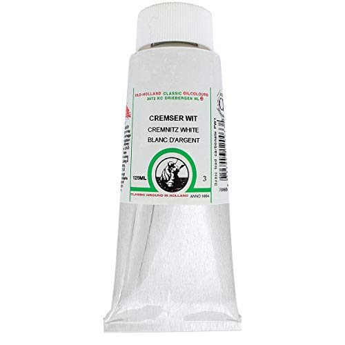 Old Holland Classic Oil Color 120 ml Tube - Cremnitz White