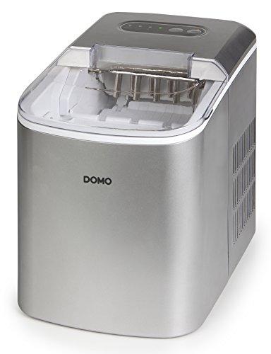 Eiswürfelmaschine DOMO DO9200IB Eiswürfel-Maker mit 2,2 L Wassertank. Macht Eiswürfel in nur 8 Minuten
