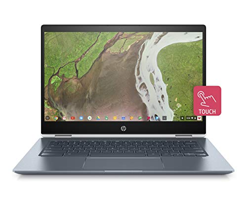 HP Chromebook x360 14-da0001ng (14 Zoll / Full HD IPS Touch) Convertible Laptop (Intel Core i3-8130U, 8GB DDR4, 64GB eMMC, Intel UHD Grafik 620, Windows 10 Home) weiß