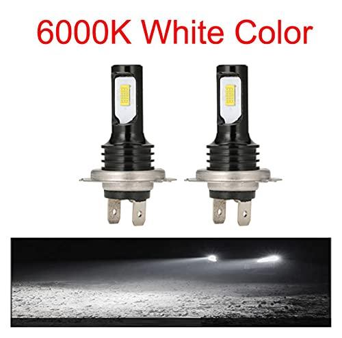 WSCHENG Nuevo H7 CSP LED Turbo Coche Faro Turbo H4 Fog Light H11 H1 H3 H3 Bombilla 12V 24V Coche LED Fog Luces de conducción Lámpara Fuente de luz (Emitting Color : 6000K, Socket Type : 881)