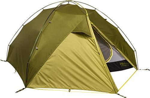 Marmot Unisex-Adult Taranis 3P Leichtes Personen, 3 Mann Trekking, Camping Zelt, absolut wasserdicht, Green Shadow/Moss