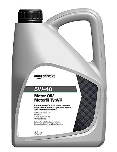 Amazon Basics Motor Engine Oil 5W-40 TypVR, 4L