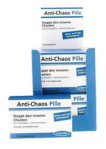 yvolve Anti-Chaos Pille - Scherztabletten - 24 Tabletten - 22g Schokolinsen
