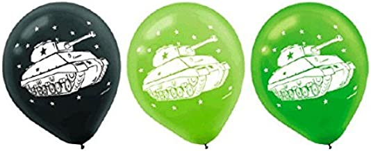 Camouflage Printed Latex Balloons, Party Favor