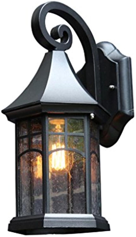 QZz Wasserdichte Retro-Lampe Treppenlicht im Freien Auenwandleuchten