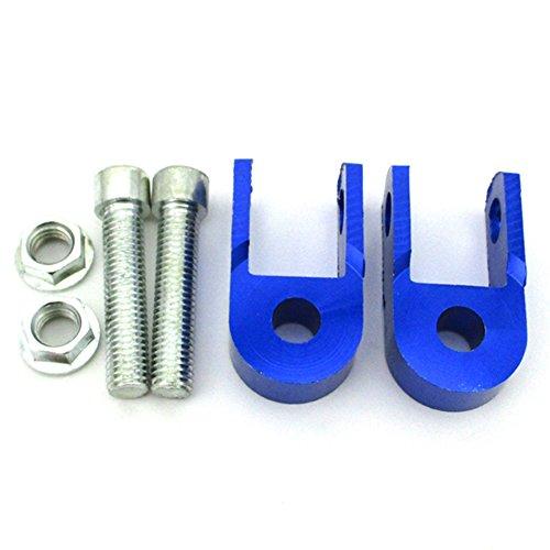 TC-Motor CNC Aluminum Blue Shock Absorber Height Extension Extender Riser Taper For ATV Motorcycle Motor Pit Dirt Bike Quad ATV