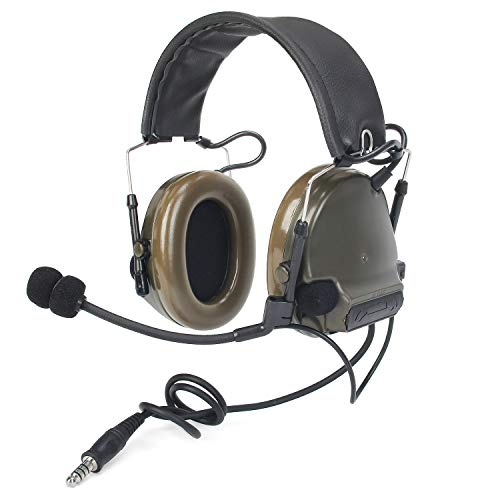 【ZTAC Official Store】Comtac III(Comtac II Upgraded)Z-Tactical Headphone G:1 Non-Mil-Spec Noise Canceling Sound Collection Soundproof Z051