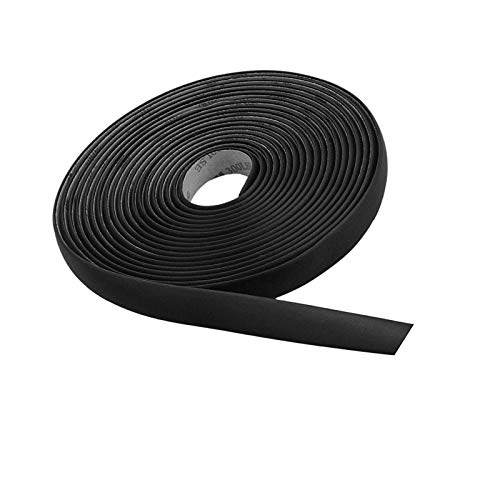 Thlevel 5M/16FT Auto Seal Weather Stripping Rubber Sealing Strip Trim Cover for Car Front Rear Windshield