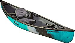 Image: Old Town Discovery 119 Solo Sportsman Canoe | Combining the simplicity and utility of a classic solo canoe with the agility and sleek handling of a kayak, this hybrid canoe is easy to handle on and off the water