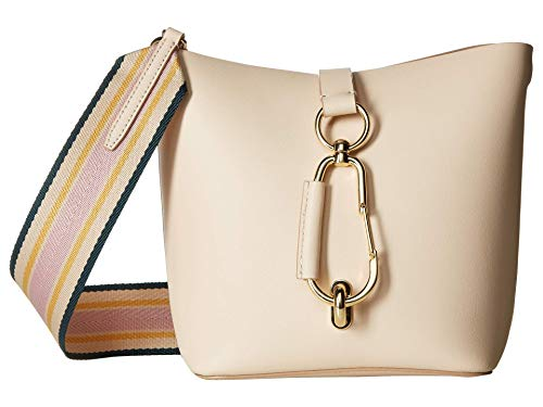 Turn your day of shopping into a day of fashion carrying the ZAC Zac Posen™ Belay Hobo w/ Striped Web Strap. Handbag made of smooth 100% leather. Spacious top opening with a slender, fold-over center strap and a gold-tone lobster clasp attached for s...
